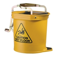 Contractor Plastic Mopbucket Yellow 15ltr (each)