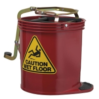 Contractor Plastic Mopbucket Red 15ltr (each)
