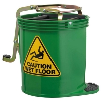 Contractor Plastic Mopbucket Green 15ltr (each)