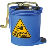 Contractor Plastic Mopbucket Blue 15ltr (each)