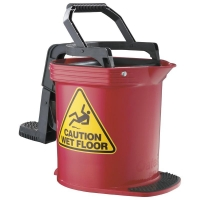 Enduro Mop Bucket Red 15ltr (each)
