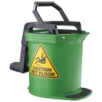 Enduro Mop Bucket Green 15ltr (each)