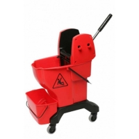 Press Bucket Complete with Wringer - Yellow (each)