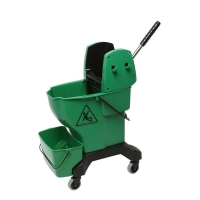 Press Bucket Complete with Wringer - Green (each)