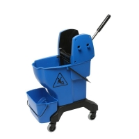 Press Bucket Complete with Wringer - Blue (each)