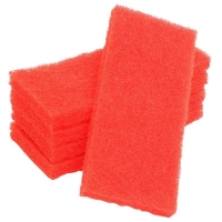 Scour Pad 250mm x 100mm Red (each)