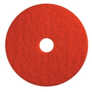 Red Light Duty Floor Pads 50cm (each)
