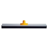 Neoprene Floor Squeegee Aluminium Backed 600mm Yellow (each)