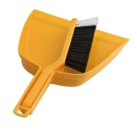 Premium Yellow Dustpan & Brush Set (each)