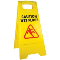 Discontinued - Now Code 610404 - Caution Wet Floor A Frame Sign (each)