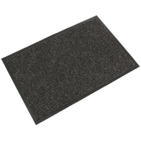 Ribbed Mat 0.9m x 1.5m - Charcoal (each)