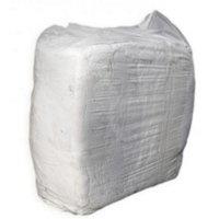 Pure White Cotton Singlet Rags 10kg  (each)