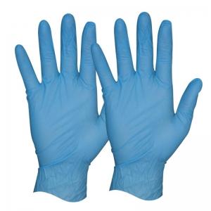 Protectaware Premium Blue Nitrile Powder Free Gloves - Small (100/pack)
