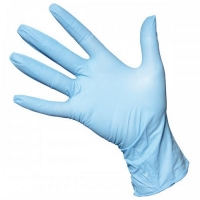 Durelle Ultimate Blue Nitrile Powder Free Gloves - Small (100/pack)