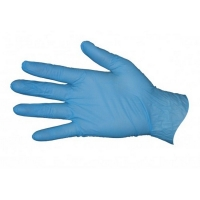 Pro-Val Blue Nitrile Powder Free Gloves - Large (100/pack)