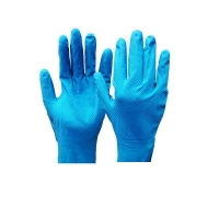 Durelle Premium Ambidextrous Blue Silver Lined Gloves - Small Size 7 (50/pack)