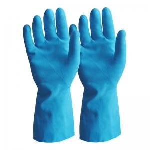 Durelle Premium Ambidextrous Blue Silver Lined Gloves - Large Size 9 (50/pack)