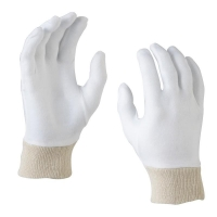Protectaware Cotton Interlock Liner Gloves Knit Wrist - Mens (12 pairs/pack)