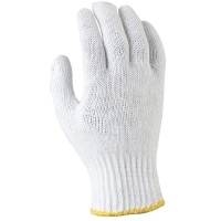Poly Cotton Knitted Gloves- Ladies (12pairs/pack)