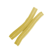 Protectaware Crimped Hair Nets Double Elastic 21inch (53cm) Yellow (1000/ctn)