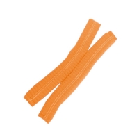 Protectaware Crimped Hair Nets Double Elastic 21inch (53cm) Orange (1000/ctn)