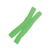 Protectaware Crimped Hair Nets Double Elastic 24inch (61cm) Green (1000/ctn)