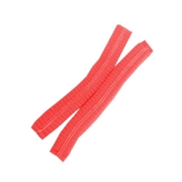 Protectaware Crimped Hair Nets Double Elastic 24inch (61cm) Red (1000/ctn)