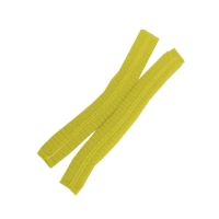 Protectaware Crimped Hair Nets Double Elastic 24inch (61cm) Yellow (1000/ctn)