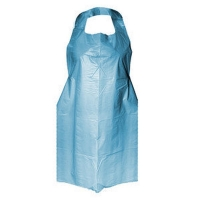 PE Disposable Hanging Aprons 96cm (W) x 125cm (L) Blue (500/ctn)