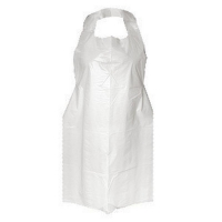 Protectaware PE Disposable Hanging Aprons 1250mm White (500/ctn)