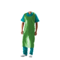 Protectaware PE Disposable Hanging Aprons 1450mm Green (500/ctn)