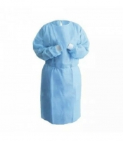 Protectaware Level 2 Disposable Isolation Gown Blue Polypropylene XL - (100/ctn)