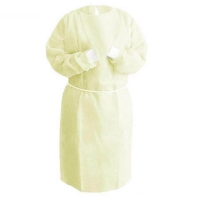 Protectaware Level 2 Disposable Isolation Gown Yellow Polypropylene XL - one siz