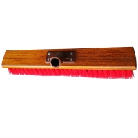 Hard Centre Wooden Backed Factory Broom Head 450mm (each)