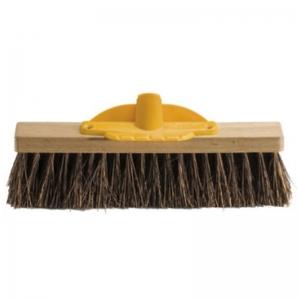 Bassine Fibre Outdoor Broom Head 300mm (each)