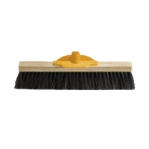 Hair & Fibre General Purpose Broom Head 450mm (each)