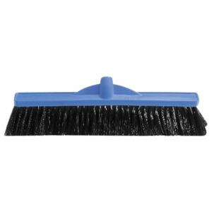 Medium Fill Plastic Backed Broom Head 600mm Blue (each)