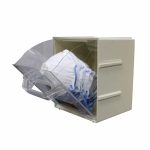 Bastion Plastic PPE Product Dispenser Box 20.8 (H) x 16.7 (W) x 20.8cm (D) (each