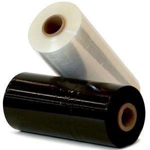 Black Machine Prestretch Wrap 12um 450mm x 1450m/Roll  (each)