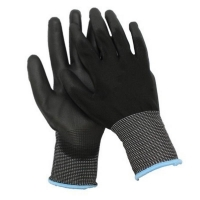 Polyurethane Coated Glove Small Size 7 (1 pair)