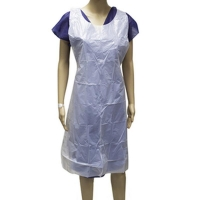 Individually Wrapped LDPE Disposable Aprons 71x117cm (100/pack)