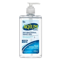 Aqium Gel Sanitiser Pump Pack 375ml (each)