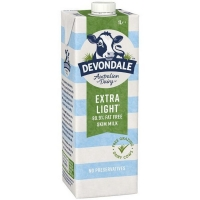 Devondale UHT Lite Milk 1ltr (each)