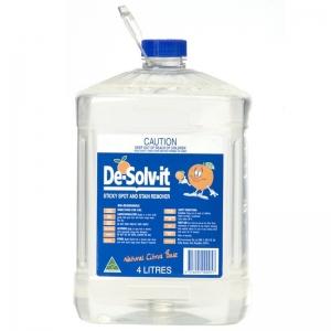 De-Solvit Citrus Cleaner 4ltr (each)