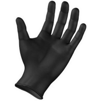 Black Ultimate Nitrile Powder Free Gloves - Large (100/pack)