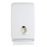 Compact Paper Towel Dispenser - ABS White Plastic (each)