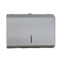 Compact Paper Towel Dispenser - Stainless Steel (each)