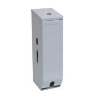 Powder Coated Triple Toilet Tissue Dispenser (each)