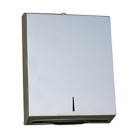 Stainless Steel Interfold Slimline Hand Towel Dispenser (each)