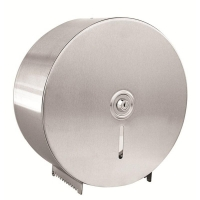 Stainless Steel Jumbo Toilet Roll Dispenser (each)